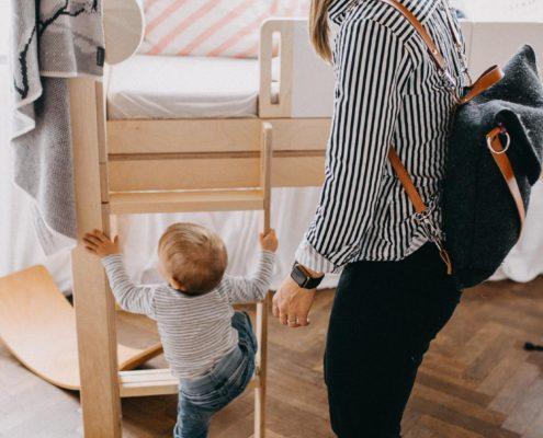 Variabilní nábytek české výroby, rostoucí dětská postýlka