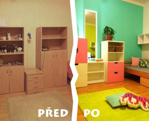 skříně, poličky, dětský design, barevný pokoj, dětský pokoj, dětský design, moderní dětský pokoj